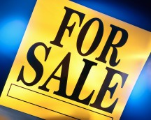 """Yellow """"For Sale"""" Sign"""