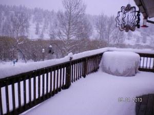 Spring Snow 5-1-2013 Ken Perdew
